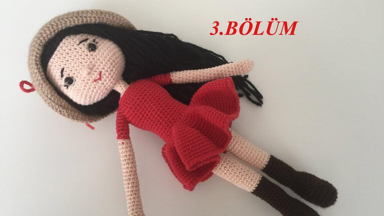 4. AMIGURUMI JULIET BEBEK el ve-kol (Crochet Tutorial) - YouTube ... | 720x1280