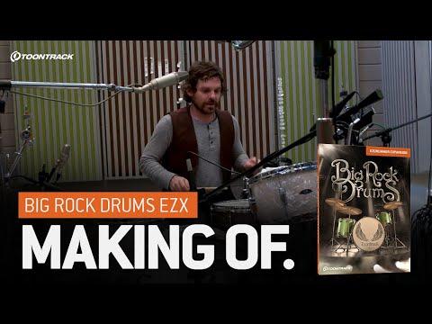 EZdrummer 2: Big Rock Drums EZX – Making of