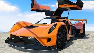 NEW $2,999,999 SUPER CAR! (GTA 5 Independence Day DLC)