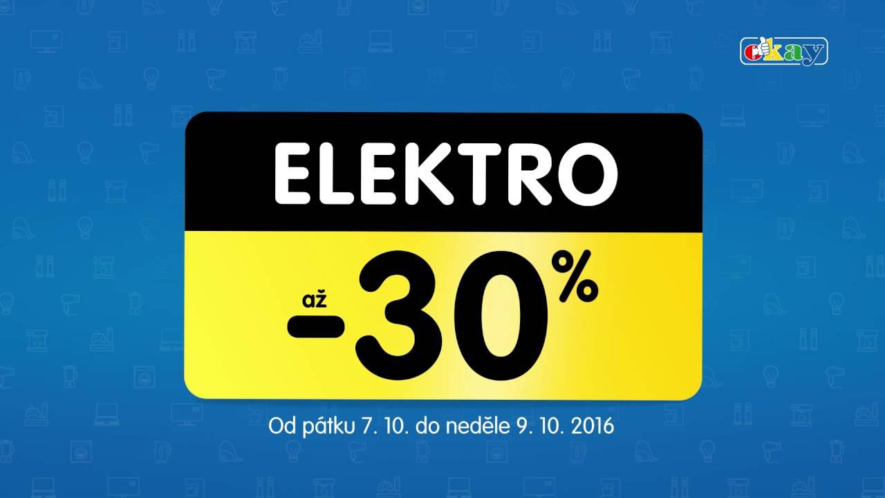 028de4ace Elektro se slevou až -30% - YouTube