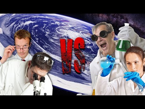 Flat Earthers VS Scientists - Atheist Reaction thumbnail