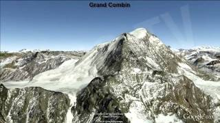 Increíbles vistas sobre los Alpes / Incredible views over the Alps [IGEO.TV]