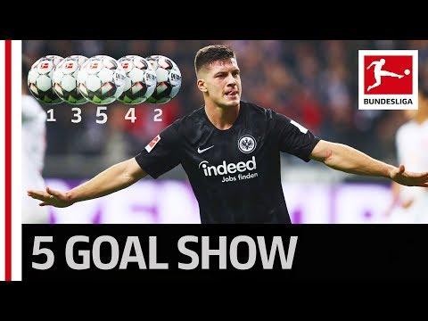 Luka Jovic's Unbelievable 5 Goals