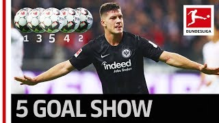 Luka Jovic's Unbelievable 5 Goals
