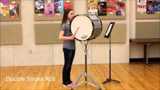 Macy's Great American Marching Band Audition 2016 (Bass Drum)