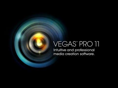 Sony Vegas Pro 11 - Урок 1 - как обрезать, ускорить видео, убрать чёрные полосы