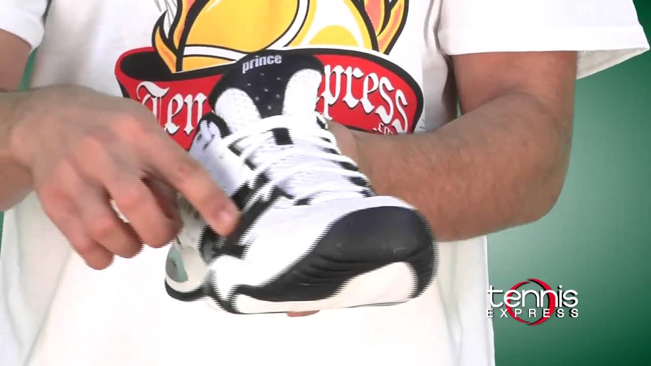 b2d7882560414e Prince T22 Men s Tennis Shoe - Tennis Express Shoe Guide - YouTube