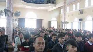 Đáp Ca: Khắp Nơi Nơi - Khánh Huyền & Ca Đoàn Gx Yên Lĩnh ( Noel 2014)