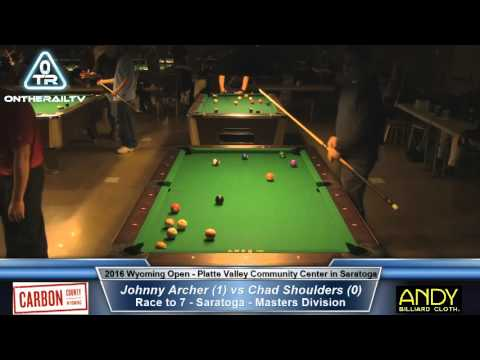 Johnny Archer vs Chad Shoulders - 2016 Wyoming Open Saratoga