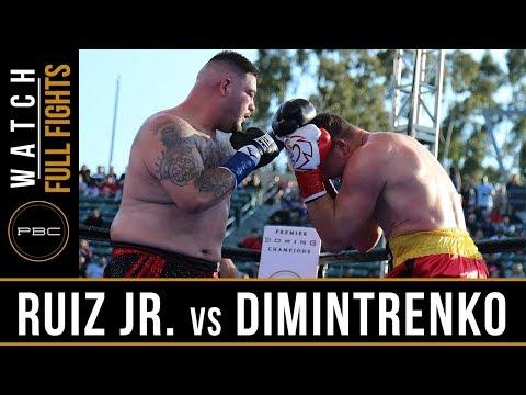 Ruiz Jr  vs Dimitrenko FULL FIGHT: April 20, 2019 - PBC on FOX