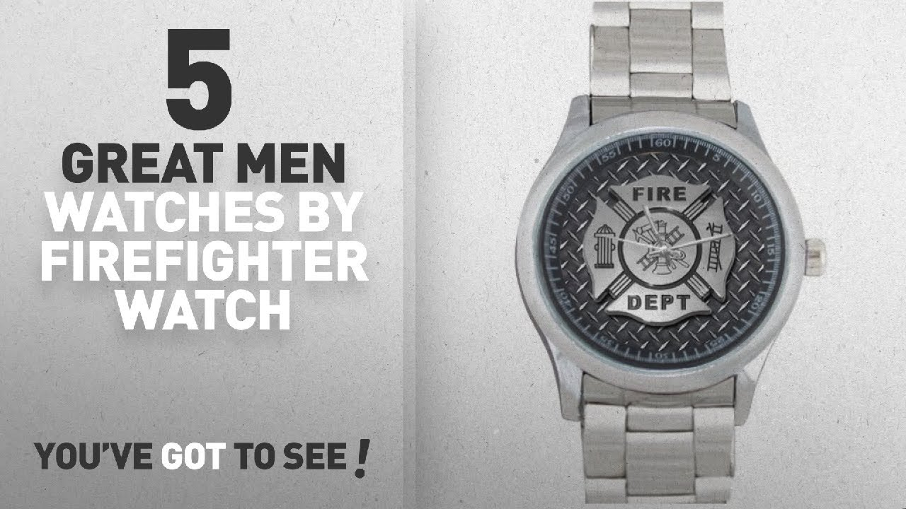 top 10 firefighter watch men watches winter 2018 christmasnew year gifts firefighter fire