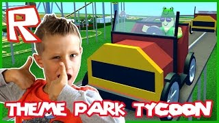 Theme Park Tycoon / The New Ride / Roblox