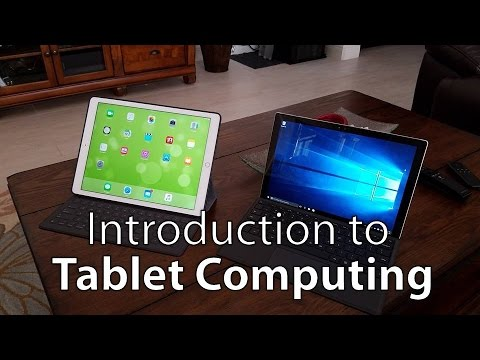 Introduction to iPads and Tablet Computing
