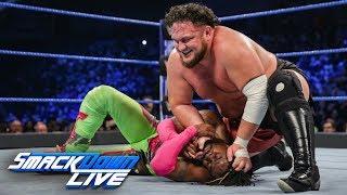 Kofi Kingston vs. Samoa Joe - Gauntlet Match Part 3: SmackDown LIVE, Feb. 12, 2019