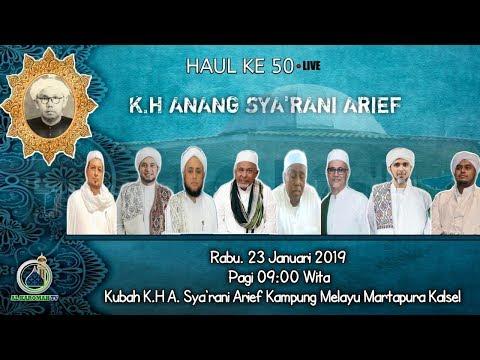 AL KAROMAH TV - LIVE PUNCAK HAUL KE 50 KH. M. SYA'RANI ARIF KP. MELAYU TENGAH  | 23 JANUARI 2019