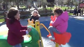 Oyuncak Avı Öykü İle Parkta Çok Eğlendik