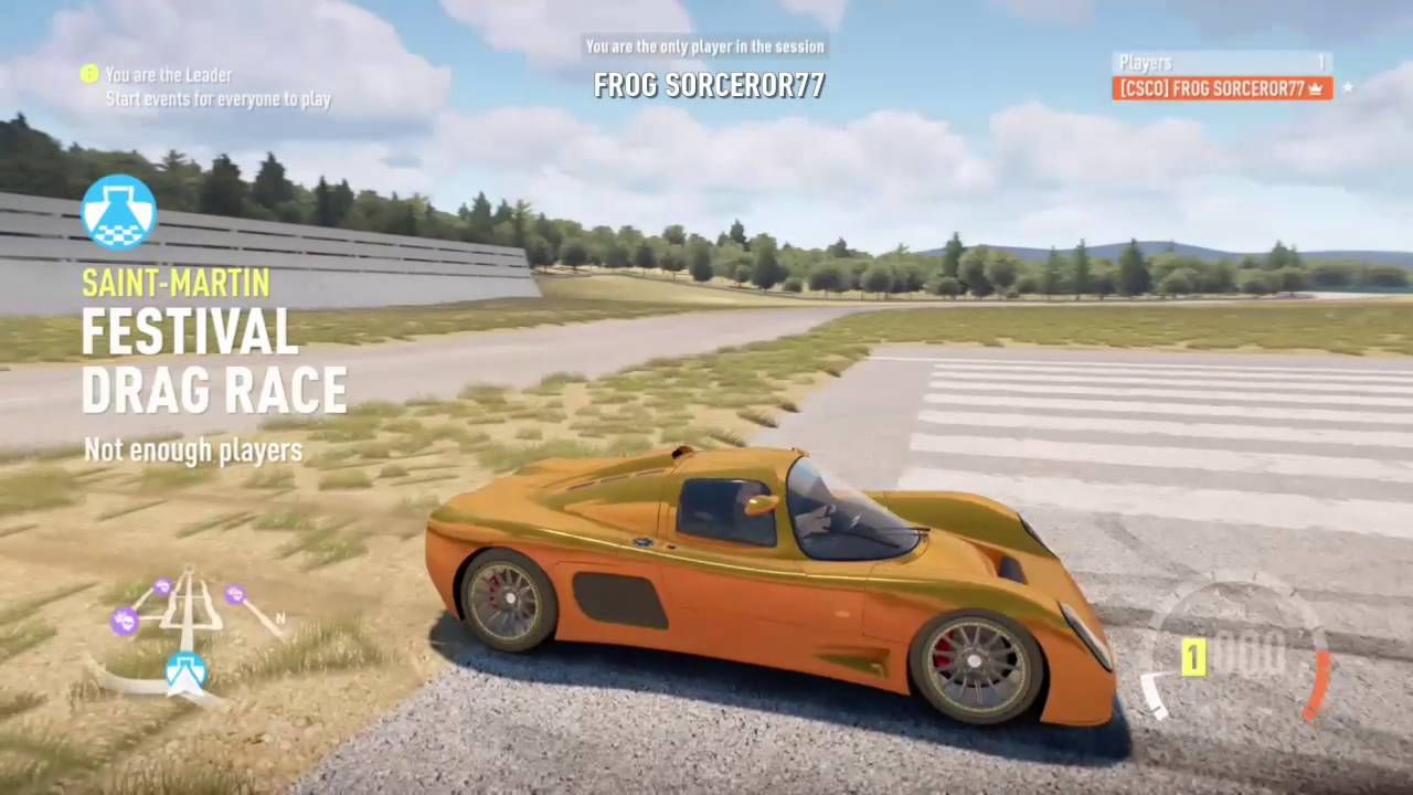 What Is The Fastest Cars For Forza Horizon