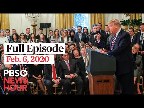 PBS NewsHour West live episode, Feb 6, 2020