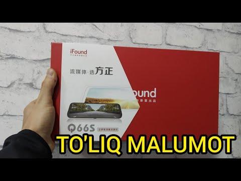 IFound Q66s видеорегистратор тулик малумот