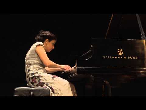 Sofya Melikyan performing C.P.E. Bach's Fantasy in F-sharp minor, H. 300