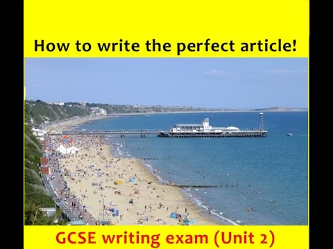 9-1 GCSE English Language: ARTICLE Writing (NEW and UPDATED 2017!)