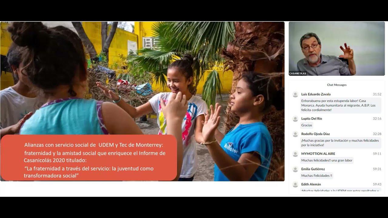 Disponible en línea el Informe Casanicolás 2020