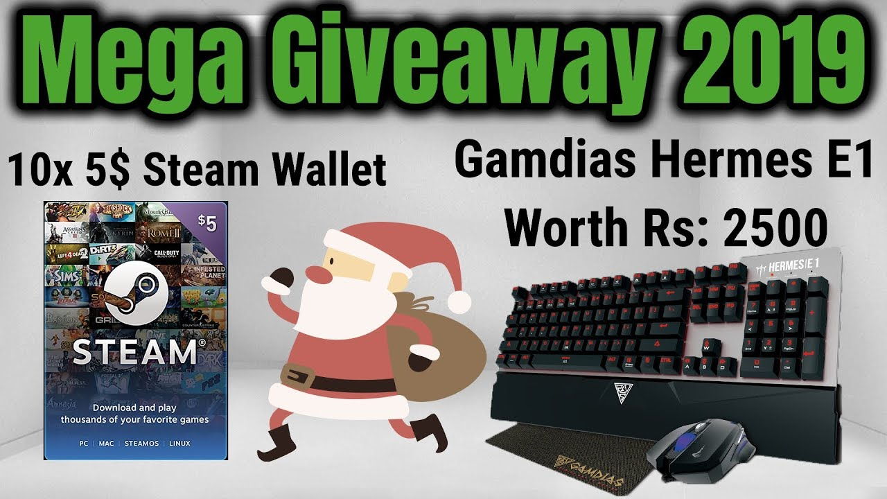 Steam giveaway 2019 christmas