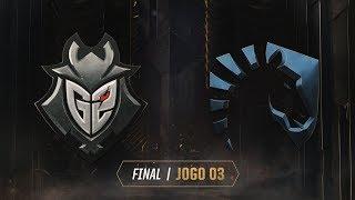 MSI 2019: Final | G2 Esports x Team Liquid (Jogo 3) (19/05/2019)