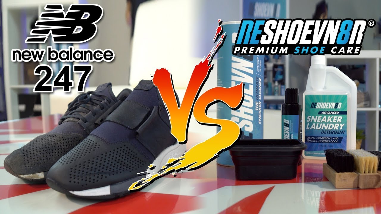515b3bce6e Can You Clean Suede New Balance 247's? - YouTube