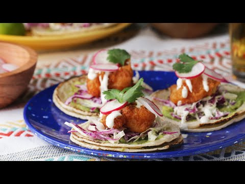 Beer-Battered Fish Tacos