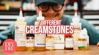 7 Different Creamstones - Easy to Mix DIY Bases
