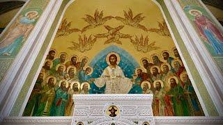 Божественная литургия в день Происхождения честных древ Животворящего Креста Господня
