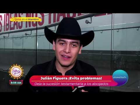 ¡Julián Figueroa sigue los pasos de Joan Sebastian!   Sale el Sol