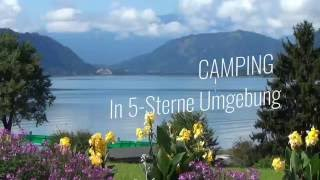 Campingbungalows Terrassen Camping Ossiacher See