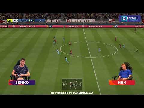 2019.10.22 ► France Cyber Stars League ► Lille (Jenko) - Marseille (HBK)