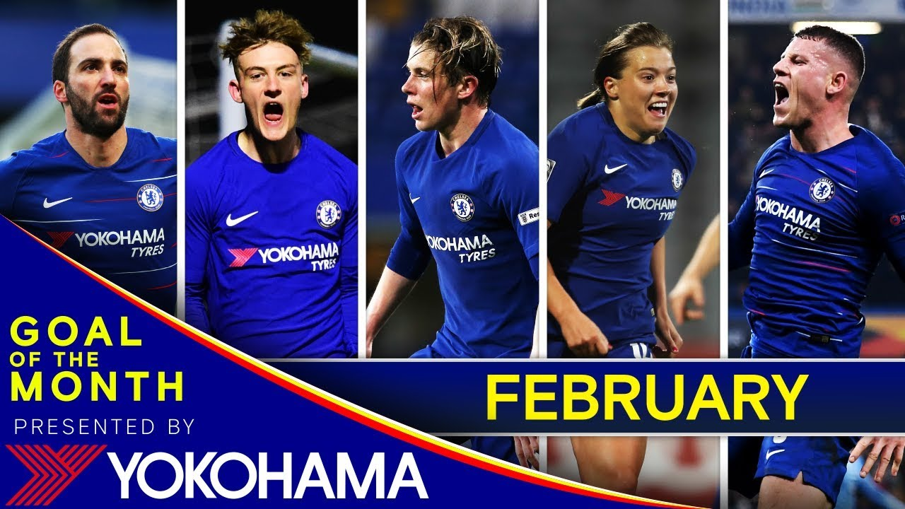 6d8e6a264 Chelsea s Goal Of The Month  February⚽ - YouTube