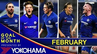 Chelsea's Goal Of The Month: February⚽️