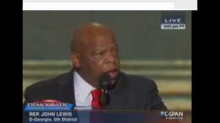 Rep. John Lewis at the DNC 2012