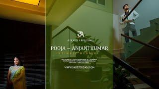 Pooja ~ Anjani Kumar Intimate Wedding  |Cinematic | South Indian Wedding I 3Art Studio I Vizag I AP.