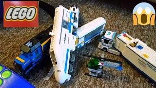 Лего поезда АВАРИЯ!первое НЕ опубликованное видео про ЛЕГО СИТИ 1 год назад! Lego City 60051 и 60052