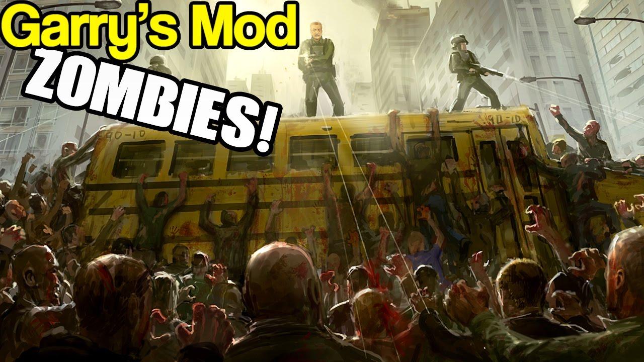 Смотреть игру гарис мод зомби