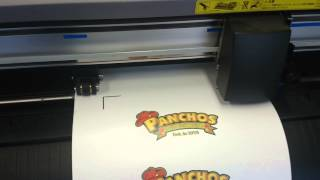 Joto Laser T-Shirt transfer paper Demo on the Graphtec cutter