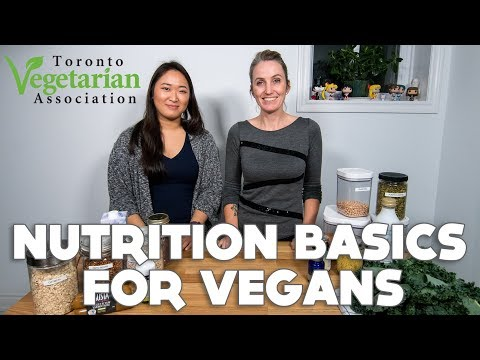 Nutrition Basics for Vegans with Vegan Dietitian Dr Pamela RD