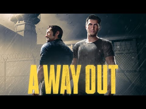 A Way Out Gameplay Walkthrough Part 1 Ultra Graphics (action adventure co op video game )