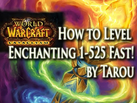 How To Level Enchanting 1-525 Fast & Easy In World Of Warcraft!