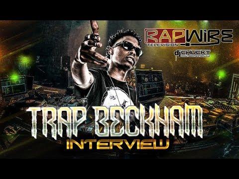 Trap Beckham Interview | RapWireTV (Beats Bars & Blends) @TrapBeckham @DefJamRecords @DJChuckT