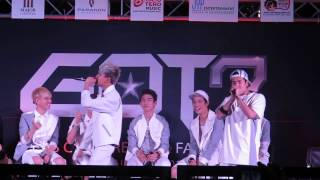 [Fancam] สวรรค์ชั้น 7 7th Heaven ( Bambam&Jackson ) GOT7 Fan event in Thailand 24/08/2014