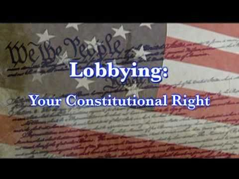 What is lobbying and why is it important? - The American League of Lobbyists