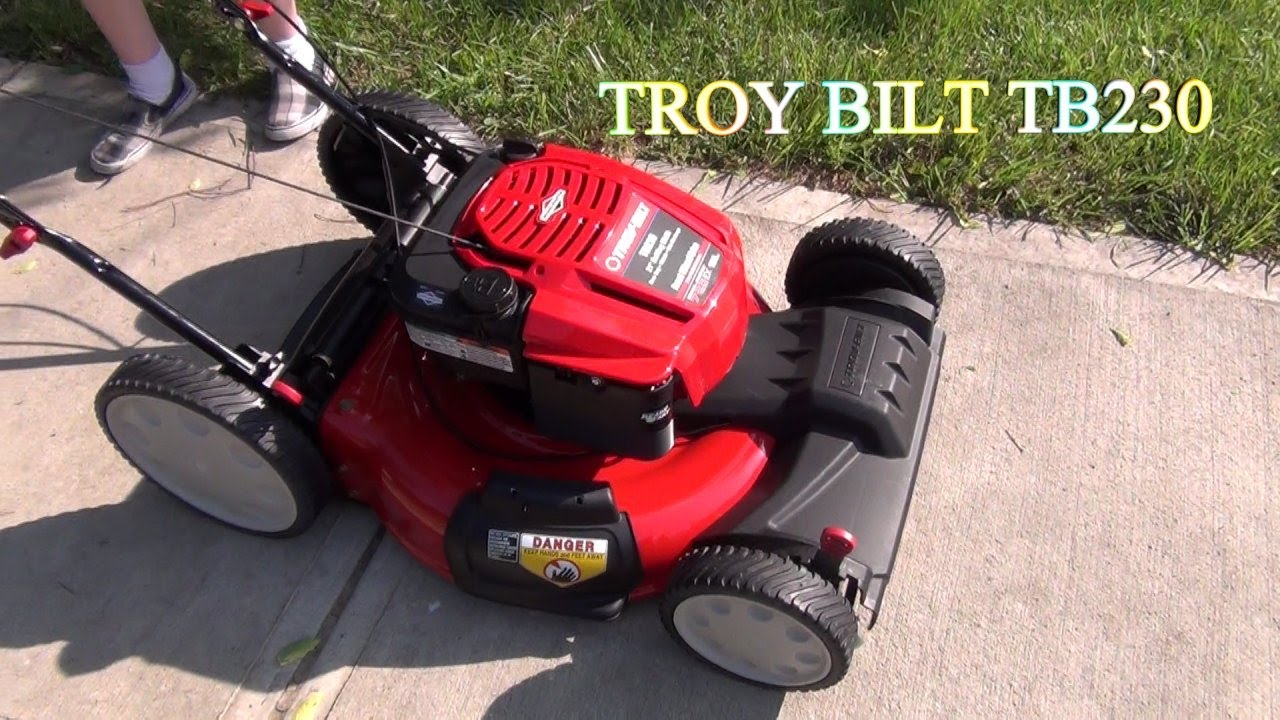 Operator's manual: troy-bilt tb230 tb260 tb280 es self propelled.