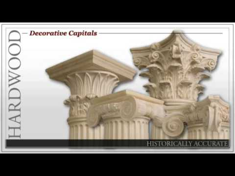 Decorative Capitals Columns